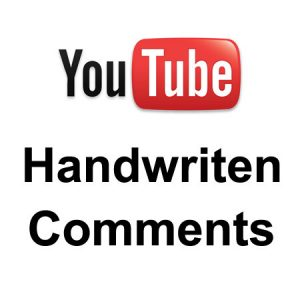 youtubehandwriten