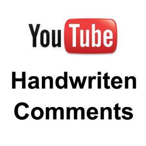 youtubehandwriten